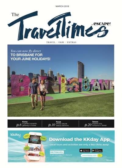 Get yourself a free copy of Travel Times!  Article cover photo
