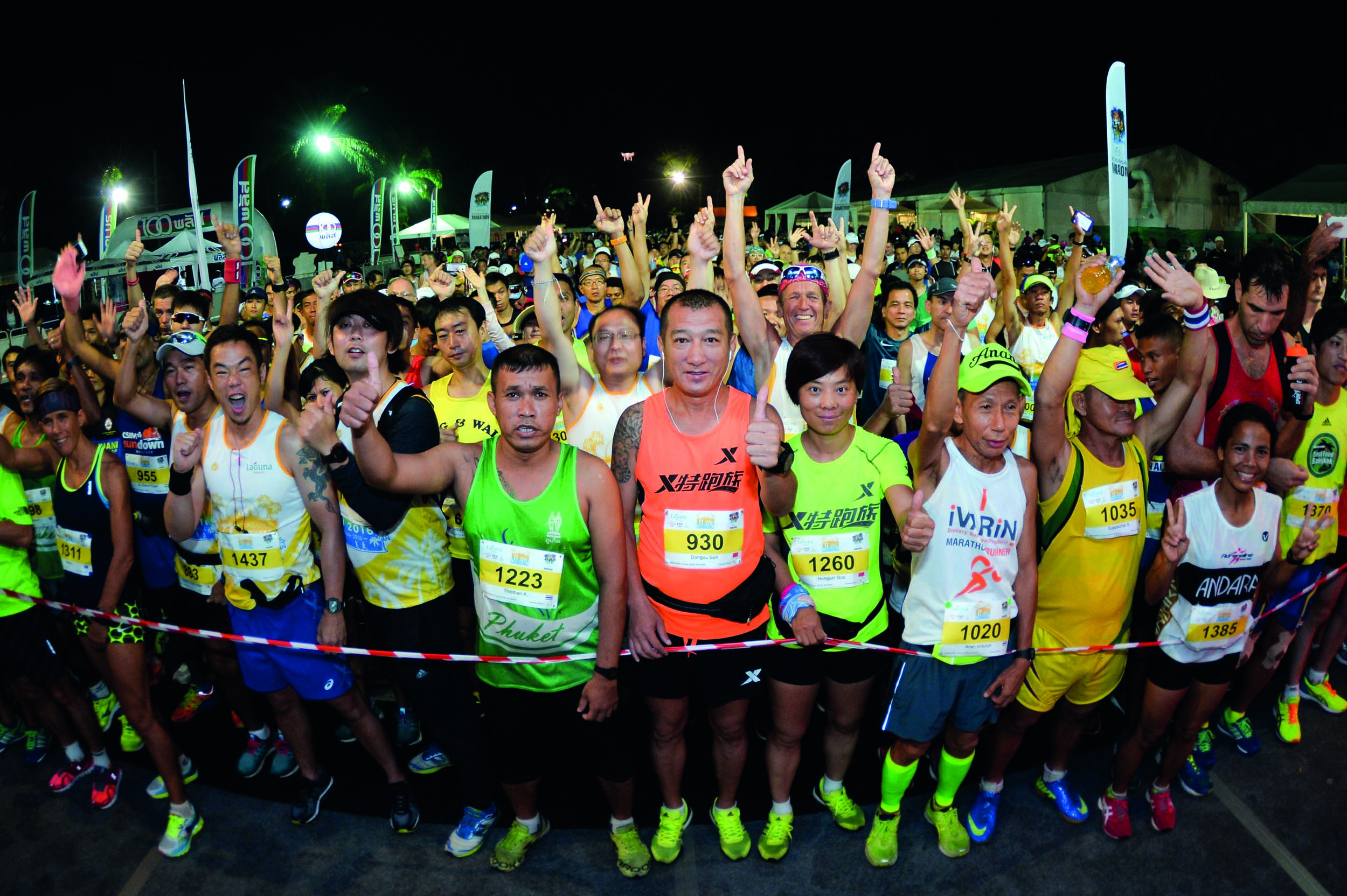 Japan, Philippines and Thailand reign at 2016 Laguna Phuket Marathon news cover image