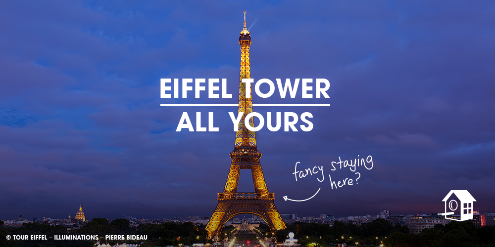 HomeAway® invites guests to sleep in the Eiffel Tower for the first time news cover image