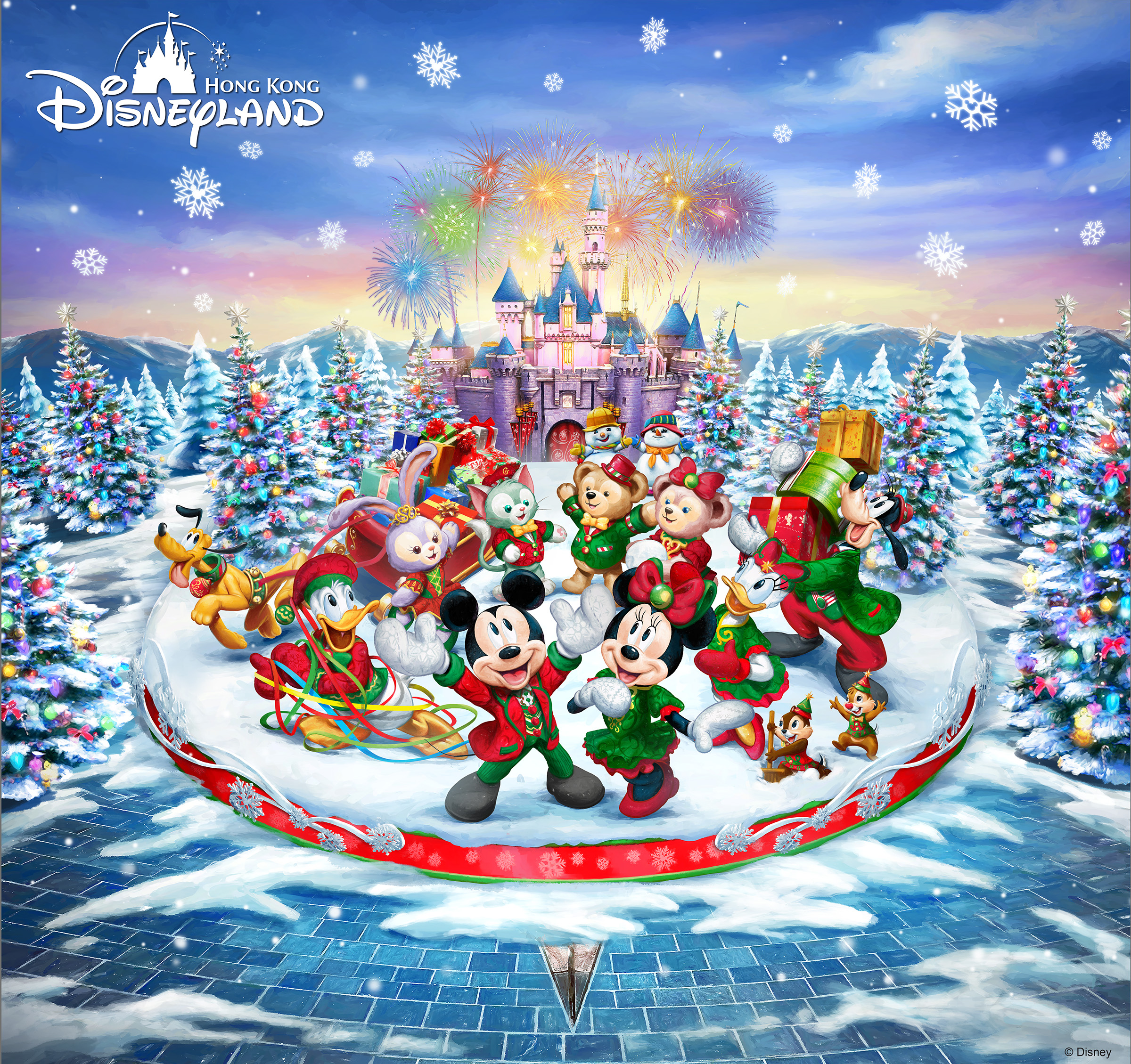 Merry Christmas from Hong Kong Disneyland Resort  Article cover photo