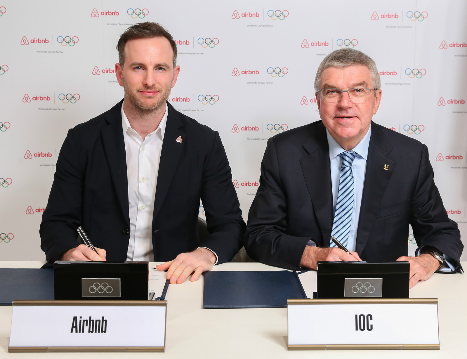 AIRBNB AND IOC ANNOUNCE MAJOR GLOBAL OLYMPIC PARTNERSHIP  cover image