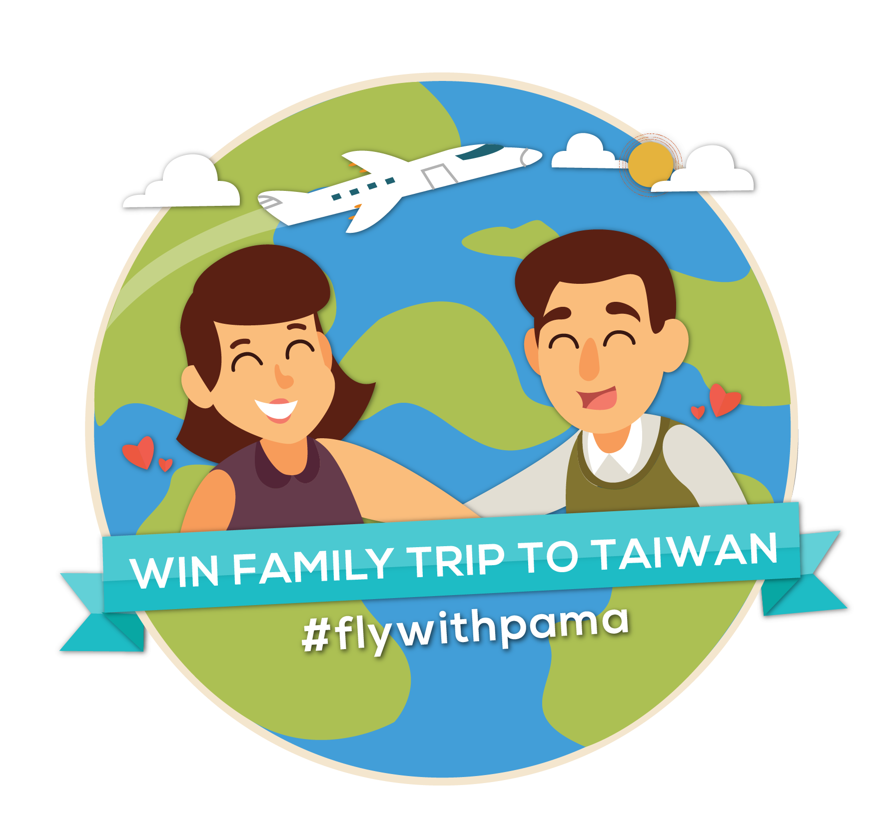 Travel Uninhibited with KKday's #flywithpama campaign cover image