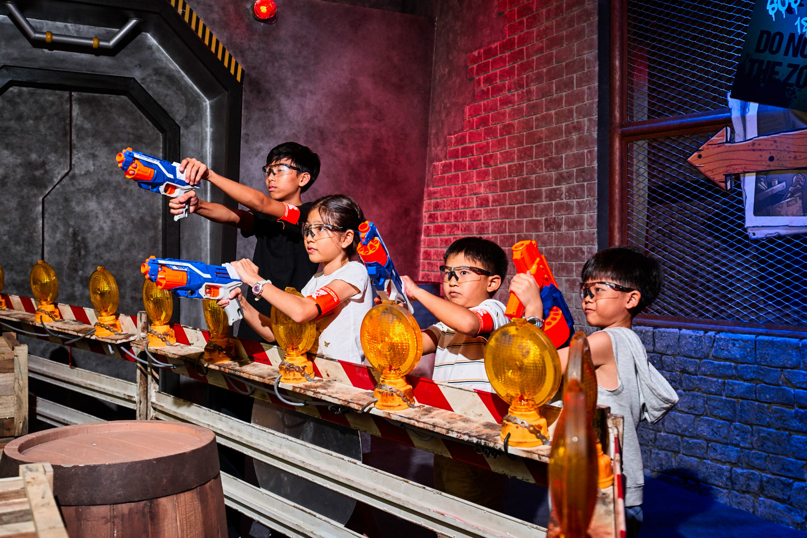 CHALLENGES AWAIT AT THE WORLD'S FIRST NERF ACTION XPERIENCE ARENA IN SINGAPORE news cover image