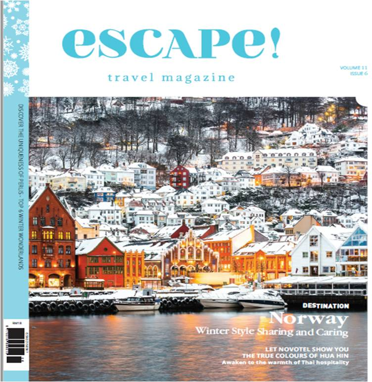 Purchase of escape! magazines cover image